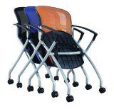 Baja de la Oficina de Visitantes Guest sesión malla silla plegable (FS-3159)