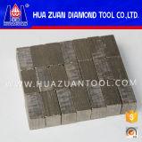 Het Segment van de diamant voor het Grote Blad van de Zaag voor Scherp Graniet