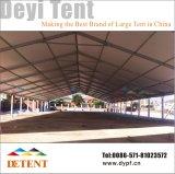 Im Freienausstellung-Ereignis-Zelt mit Glaswand u. Futter