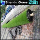 Grama do jardim 20mm com cor de Green+Brown para a decoração