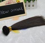膚触りがよくまっすぐなインドのバージンの人間の毛髪の拡張毛の織り方