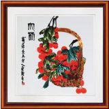 Het frame Buitensporige het Hangen van de Muur van Vruchten Schilderen voor Hotel