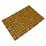 Placemat de bambú natural del bloque para la mesa y el suelo