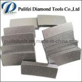 중국 돌 공구 화강암 원형은 톱날 다이아몬드 절단 세그먼트를