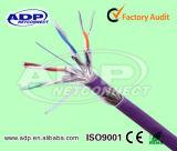 상한 근거리 통신망 케이블 Ufftp/F (FTP) S (FTP) CAT6A/Cat7 케이블 가자미 통행