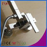 Fyeer pared de baño de latón de ducha de lluvia LED Set (QH336F)