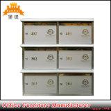 Appartement d'acier Journal Lettre titulaire boîtes avec numéros de maison