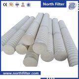 Pp./Glasfaser gefalteter hoher Strömungsgeschwindigkeit-Filtereinsatz