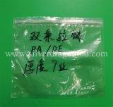 Transparente personalizado/Bolsa Ziplock PVC transparente para el paquete de ropa interior