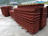 Строительный материал листа толя металла красного камня Coated Corrugated