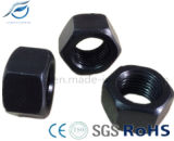 Углеродистая сталь высокой прочности точная резьба шестигранная гайка