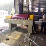 Champ d'huile de déshydratation des boues, décanteur centrifuge horizontale de la machine