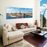 Bella pittura di paesaggio della stanza di disegno unico