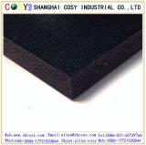 Hoja/tarjeta calientes de la espuma del PVC del negro de la venta para el grabado