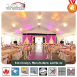 Шатер венчания для 500 людей с украшениями и кондиционерами