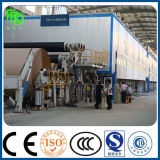 Canaleta y fabricación de papel corrugado Línea de producción, máquina de reciclaje de residuos de papel, papel que hace la máquina