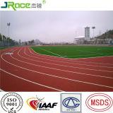 Pista corrente del campo da giuoco che pavimenta pista atletica per atletica leggera