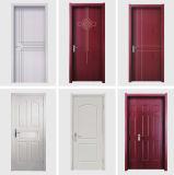 La décoration de couleurs multiples Anti-Fire WPC pour les maisons de porte intérieure