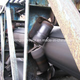 Banda transportadora de la pipa de goma de acero de la cuerda/correa/banda transportadora de la transportación
