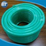 Mangueira de PVC reforçados com fibras coloridas/Tubo com boa flexibilidade