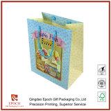 sacchetto di carta del regalo del caffè, sacchetti d'imballaggio con le maniglie
