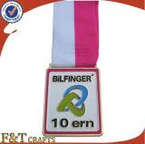 Medaglia olimpica di sport personalizzata promozione del nastro di onore (FTMD1345A)