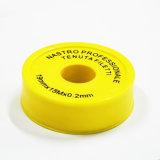 機械装置で使用されるより少なく残りの潤滑油PTFEの糸のシールテープ