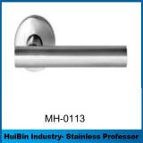 Maneta de lujo del acero inoxidable del conjunto completo de la venta al por mayor de la alta calidad del diseño para los accesorios de la puerta con el bloqueo