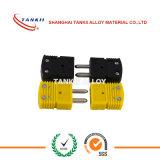 Tankii Jのタイプ熱電対の小型コネクターは在庫のプラグを差し込み、