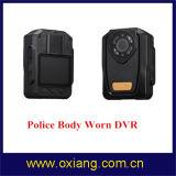 Construido en cámara desgastada carrocería video completa de la policía de Ambarella A7 HD 1080P de la visión nocturna del GPS IR