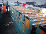 기계 공급자를 형성하는 이용된 두 배 갑판 루핑 장 롤
