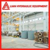 Cilindro hidráulico do atuador da pressão média com aço de carbono