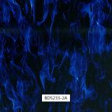 """Películas flamejantes da impressão de Hydrographics do teste padrão do incêndio para os patins de rolo e o """"trotinette"""" (BDSA621-1)"""