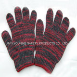 Cheap Colorful Knitting machine Knitted Work Glove