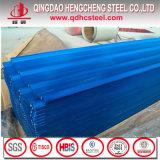 Hoja acanalada prepintada del material para techos del acero PPGI