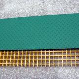 GRP FRP Fiberglas, das mit kiesigem Deckel zerreibt