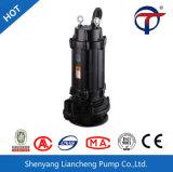 Wqx komplettes Präzisions-Gussteil-Entwässerung-Abwasser-versenkbare Wasser-Pumpe