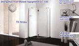 Caixa simples Sanitaryware do chuveiro da cabine do chuveiro da abertura da dobradiça do cerco do chuveiro da forma do diamante