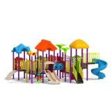 Parque Infantil exterior de plástico deslize para crianças e crianças (JYG-15007)