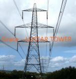 Buen precio de la torre de transmisión de acero para la alimentación la línea de fábrica con certificación ISO90001