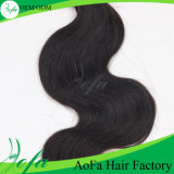 Wholesale Indian Remy Virgin Hair Extension de cheveux humains ondulés