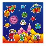 Magic детей лучший подарок игрушек многоразовая Наклейка блока с отдельным сцены