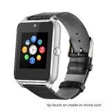 2017 SIMのカードスロットが付いている新しいステンレス鋼のスマートな腕時計