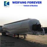 半中国45cbm 59t 3axlesのバルクセメントの粉タンクトレーラー