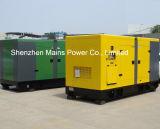 275kVA 220kw gerador diesel silenciosa para hotel de baixo ruído
