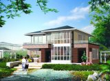 Estructura de acero modulares prefabricados de la construcción de la casa