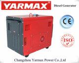 5kVA Ym9000t Ym190の移動式ディーゼル発電機の無声タイプ空気によって冷却されるOEMの製造業者