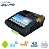 NFC 3G y el lector RFID todo-en-uno POS Terminal Service