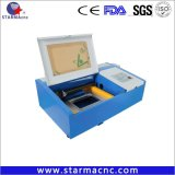 300X200mm 40W Gravure die van de Laser van de Zegel van PCB de RubberMachine merken