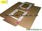 ティッシュ/ペーパーディスプレイ/ PDQ表示用の段ボール床ディスプレイ(B&C-A028)